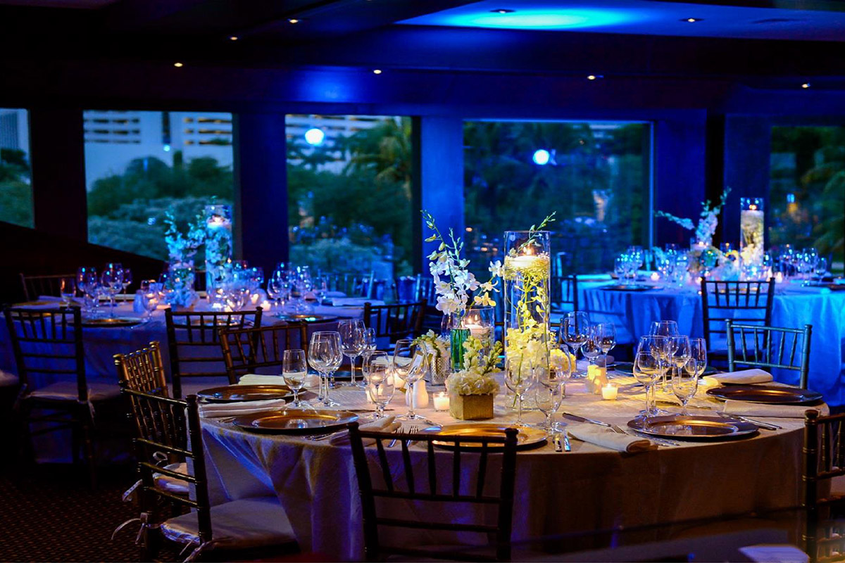 Event services seafair mega yacht event venue for Wedding venue with a view